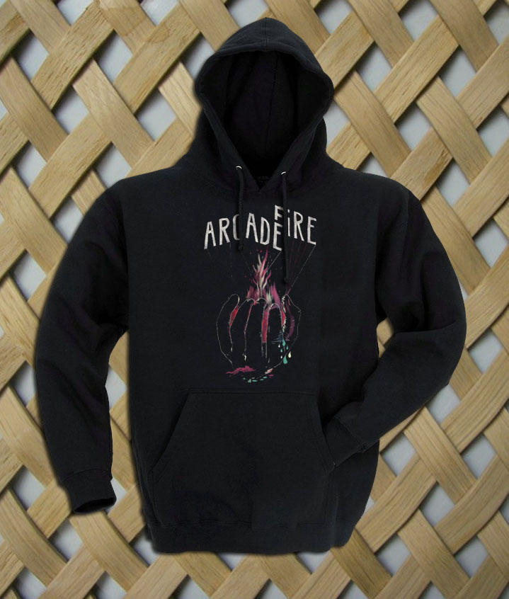 Arcade Fire Hand Logo hoodie