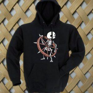 Bone Wheel Skeleton hoodie