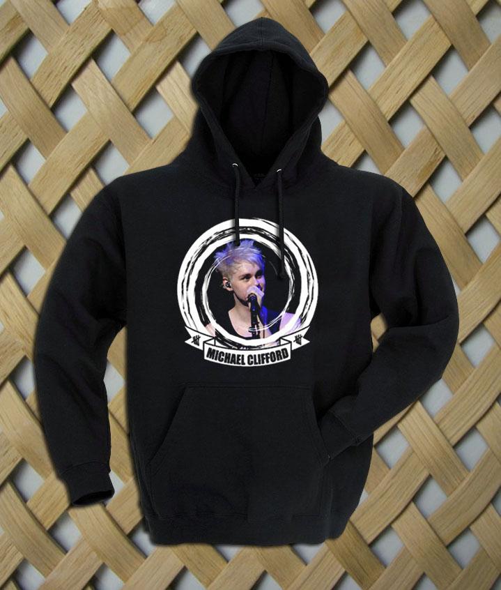 4264f72c0c4 Michael Clifford 5sos Album Cover hoodie - crafterbay.com