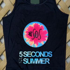 5 Sos Floral Style Tanktop