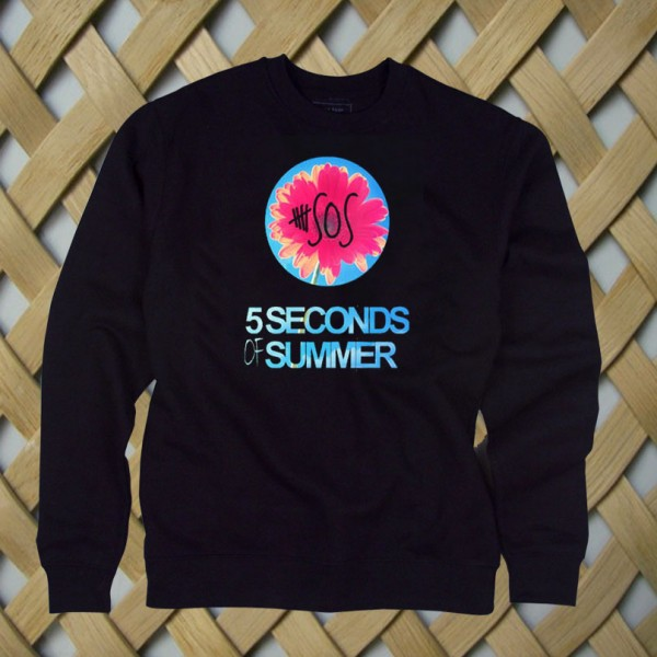 5 Sos Floral Style Sweatshirt