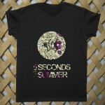 5 seconds of summer floral style T shirt