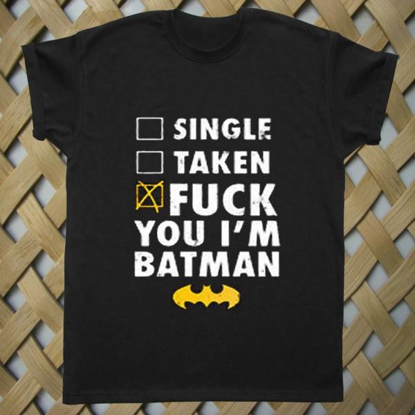 Batman Fuck Batman T shirt