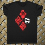 Diamond Harley Quinn Batman T shirt