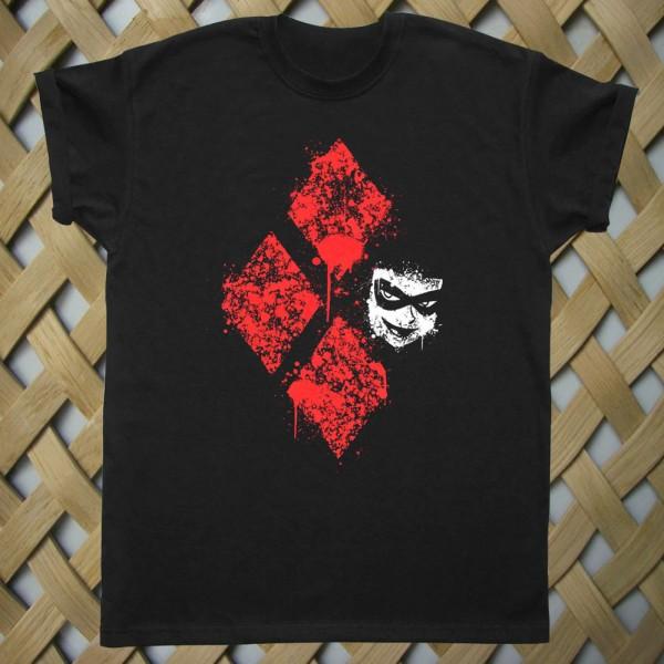 Diamond Harley Quinn Batman T shirt