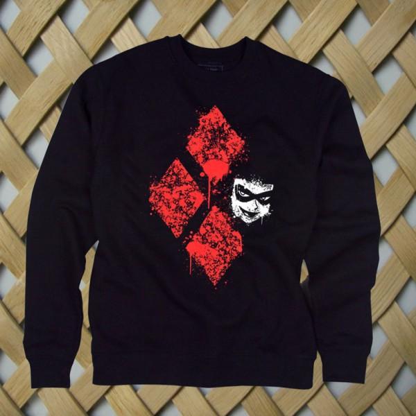 Diamond Harley Quinn Batman Sweatshirt