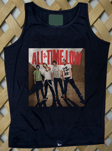 all time low band Tanktop