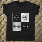 arctic monkeys the 1975 bastille T shirt