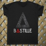 bastille tour T shirt
