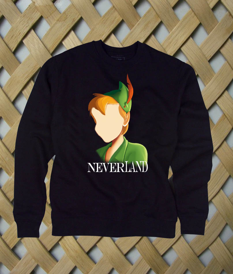 peter pan sweatshirt