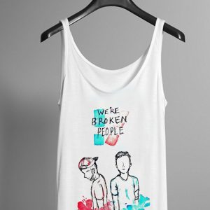 Twenty one pilots We're broken people tanktop