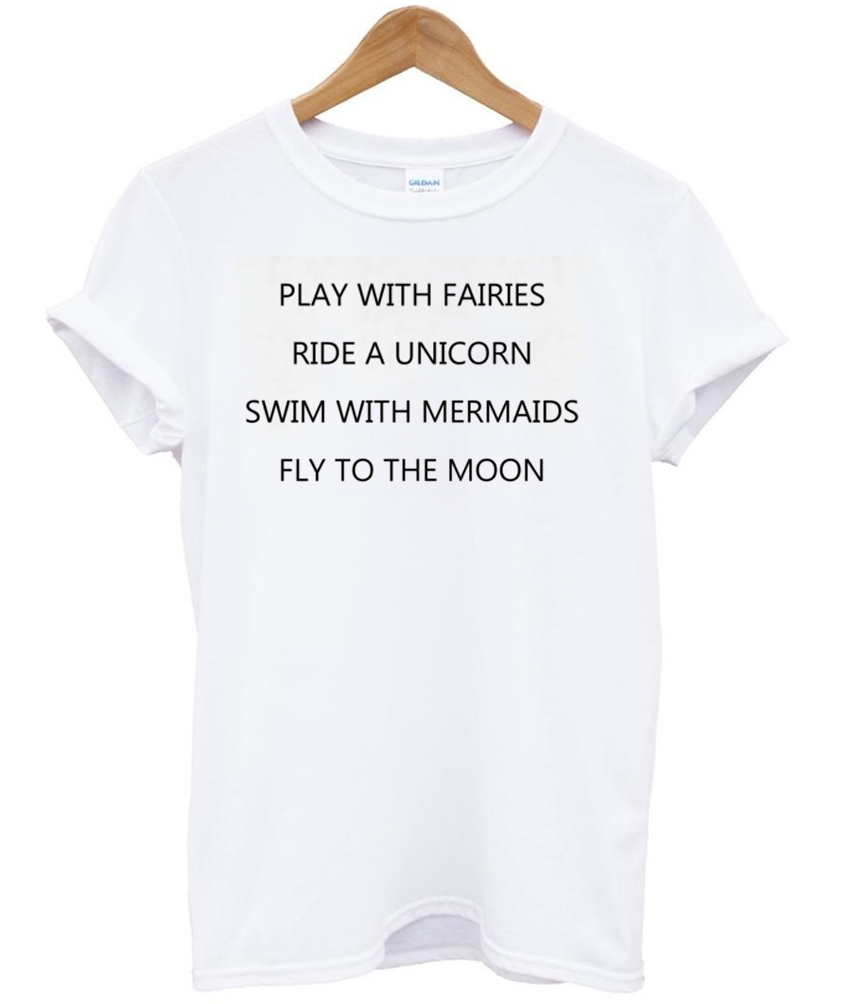 582004603fd7f play with fairies T shirt - crafterbay.com