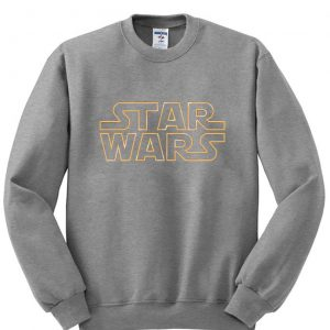 star wars gray sweatshirt