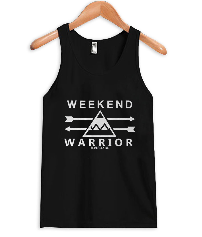weekend warrior tanktop
