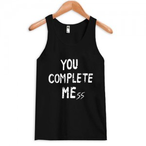 you complete mess 5 second of summer luke hemming tanktop