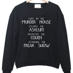 American Horror Story Four Seasons sweatshirt 2