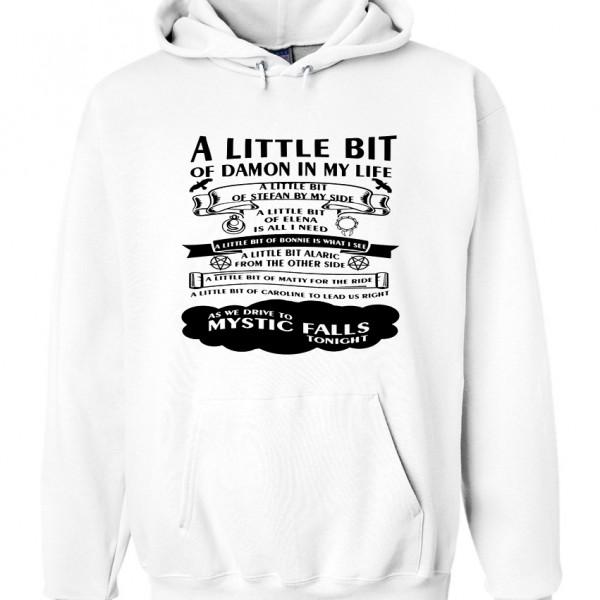 A little bit hoodie