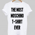 the most moschino t-shirt ever T shirt