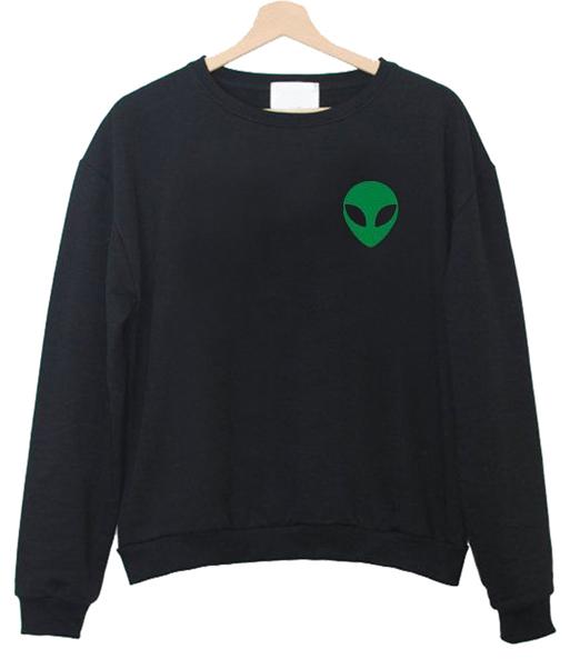 Alien Green Sweatshirts