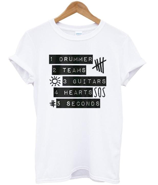 5sos 5 seconds of summer T-shirt