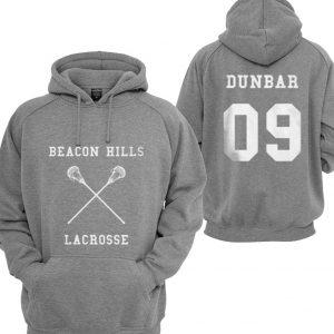 Beacon Hills Lacrosse Dunbar 09 Hoodies