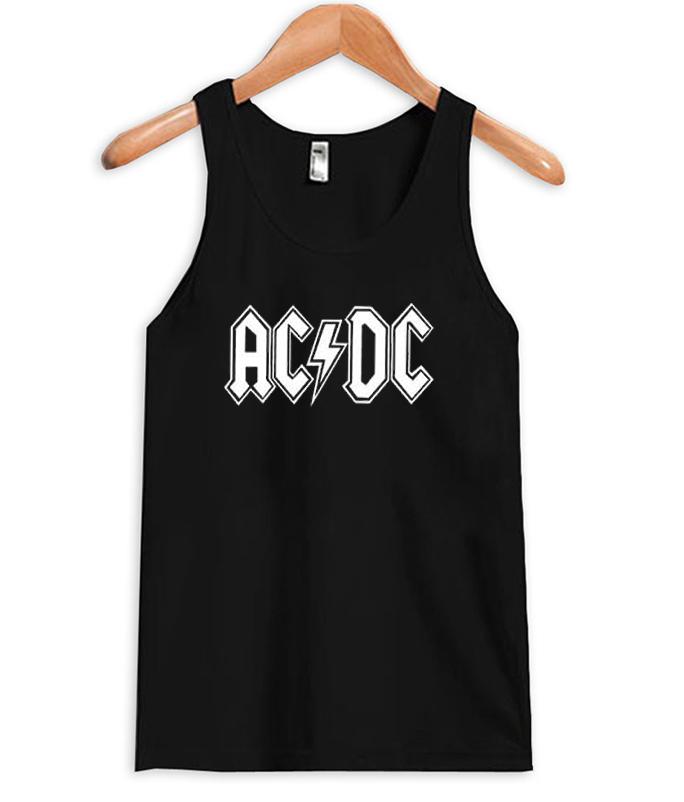ac dc logo band T-shirt