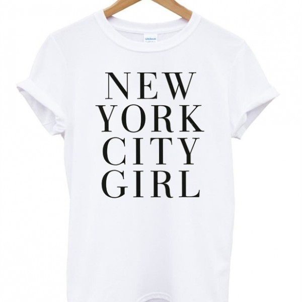 New york city girl t shirt for New york city tee shirts