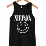 nirvana smile Adult tank top men and women