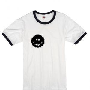 whatever smile unisex ringer t-shirt