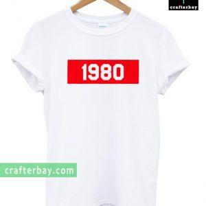 1980 unisex T-shirt