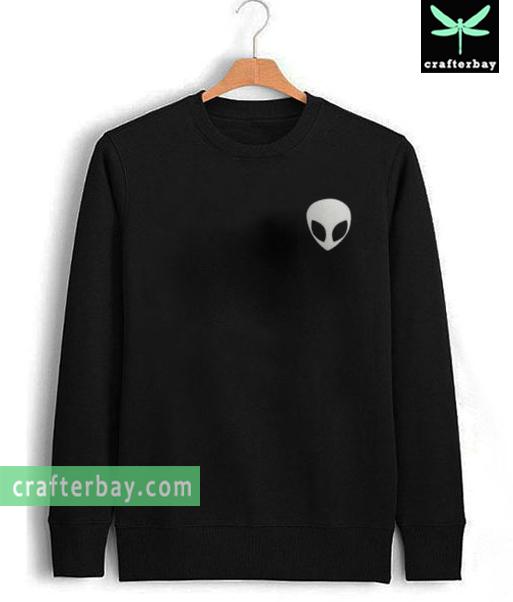 Alien Head Sweatshirt