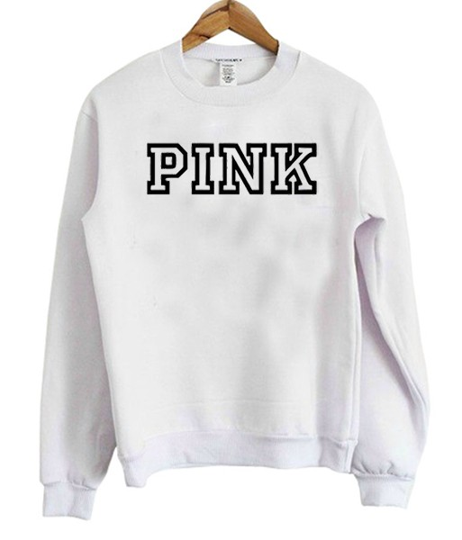 Secret Pink Logo Sweatshirt