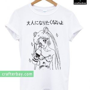 sailor moon thug life art T-shirt