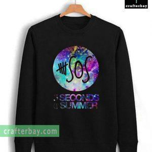 5SOS Nebula Galaxy Unisex Sweatshirt