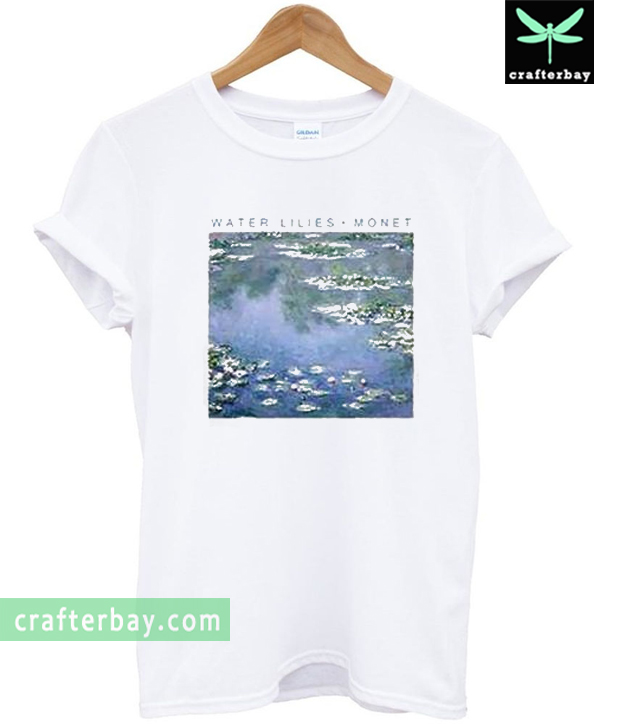 water lilie monet T-shirt