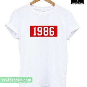1986 Font Tshirt