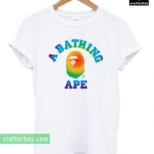 A Bathing Ape Rainbow T-shirt