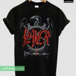 Slayer Black Eagle Band T-shirt