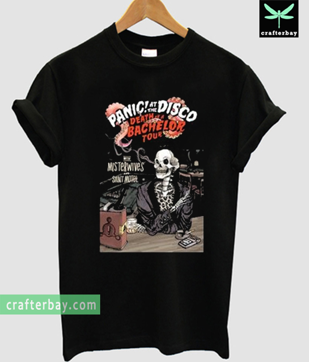Panic At The Disco Death Of A Bachelor Tour T Shirt
