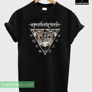A Perfect Circle Announces Spring Tour T-shirt
