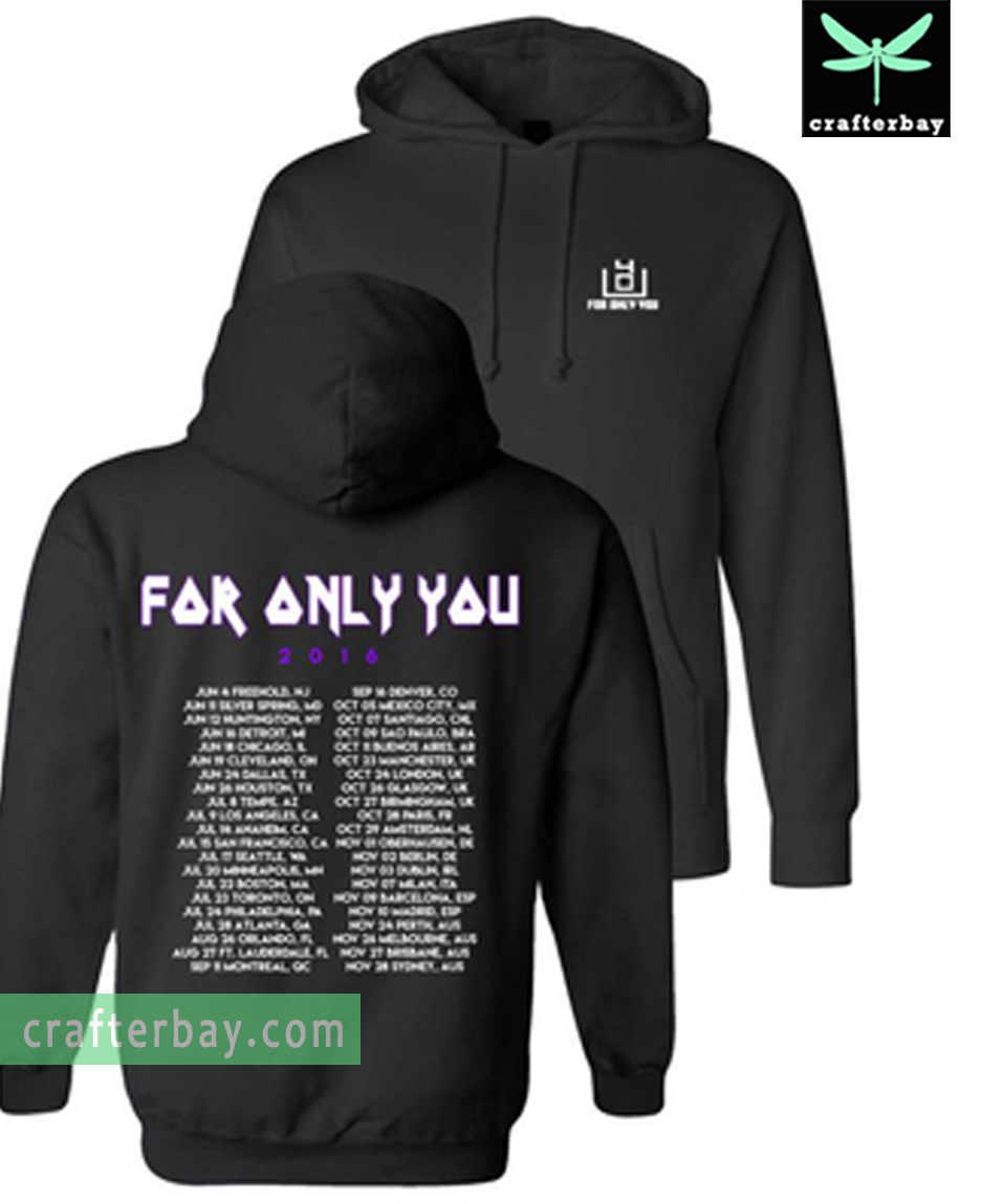 4OU World Tour 2016 Hoodie Two Side