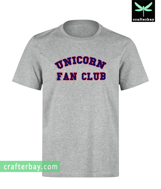 Unicorn Fan Club T-shirt