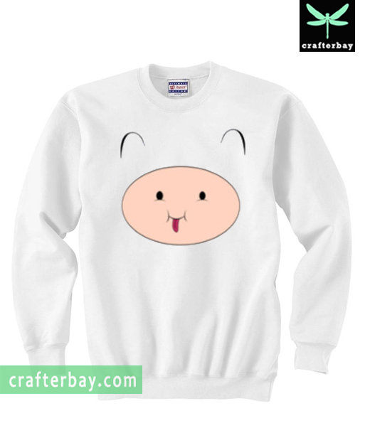 Adventure Time Cute Finn Sweatshirt