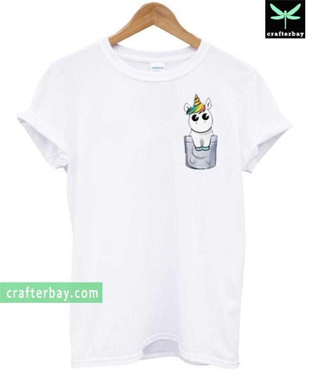Unicorn Pocket T-shirt