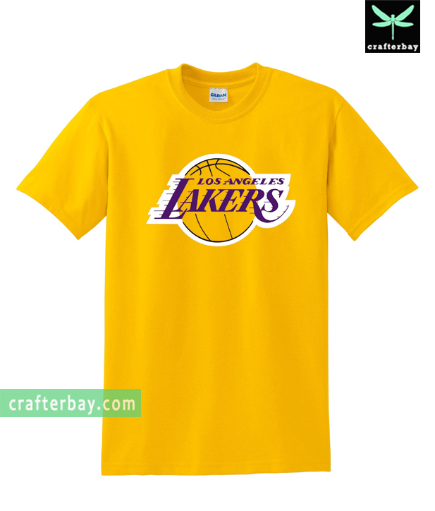 los angeles lakers t shirt. Black Bedroom Furniture Sets. Home Design Ideas