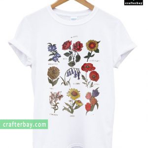 Future State Flower Chart T-shirt