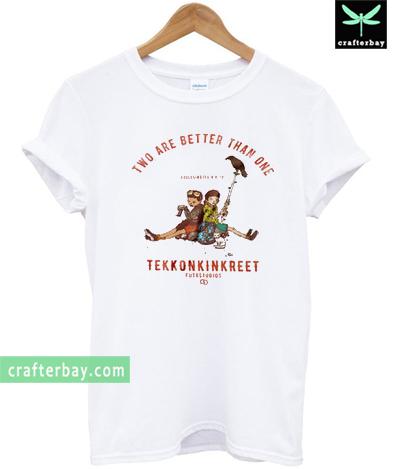 Two Are Better Than One Tekkonkinkreet T-shirt