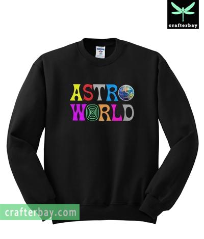 Astroworld Travis Scott Sweatshirt
