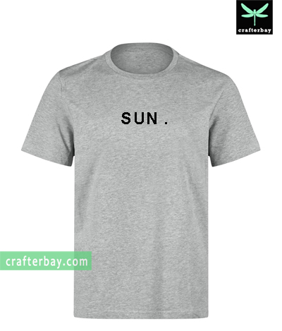 SUN Sunday T-shirt