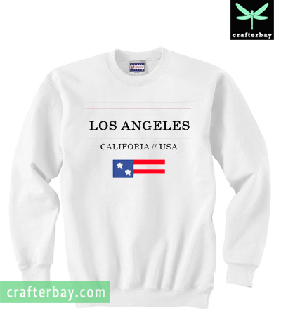 Los Angeles California USA Sweatshirt